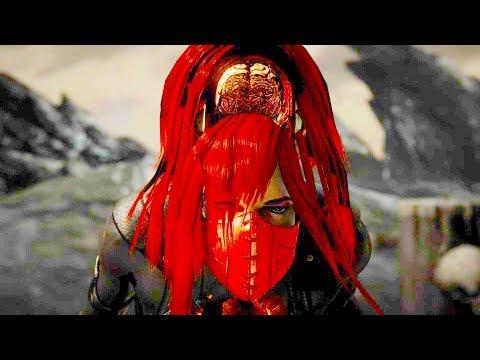 Mortal Kombat X Fatalities Mileena Skin Mod - игровое видео