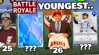 i drafted the YOUNGEST br team in mlb the show history...