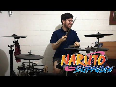 KANA-BOON - Silhouette [シルエット] - Drum Cover [NARUTO OP