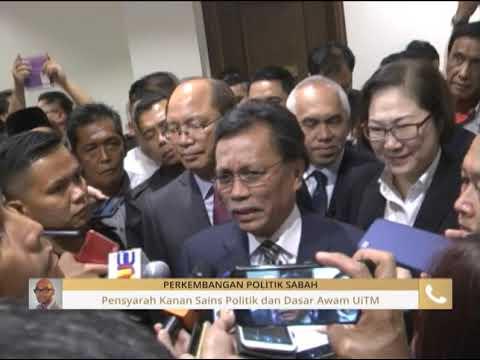 Perkembangan politik Sabah