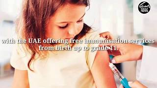 Free vaccination for children in the UAE