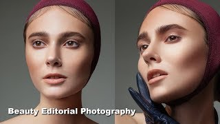 BEAUTY EDITORIAL PHOTOGRAPHY BTS - How I Shoot My Beauty Editorials
