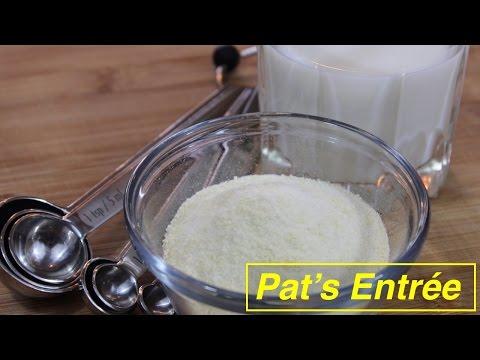 Video Homemade Whey Protein Powder