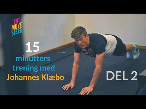 15 minutters trening med Johannes Høsflot Klæbo – DEL 2