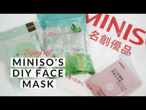 Maskara aloe oily face