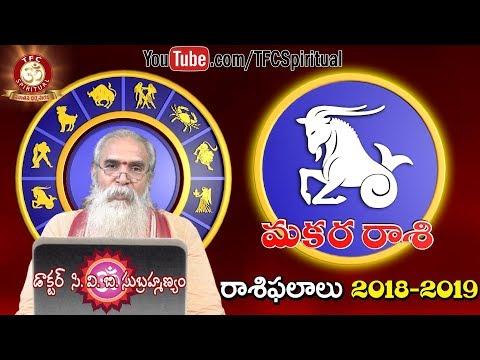 Makara Rasi || Capricorn || Rasi Lakshanalu || Rashi Characteristics || by  Dr  C V B  Subrahmanyam - TFC Spiritual