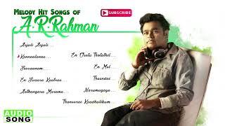 Gambar cover AR Rahman Tamil Melody Hit Songs   Audio Jukebox   Top 10 Melodies of AR Rahman   Music Master