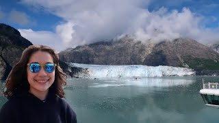 Cruising Glacier Bay National Park! Alaska cruise 2018 vlog