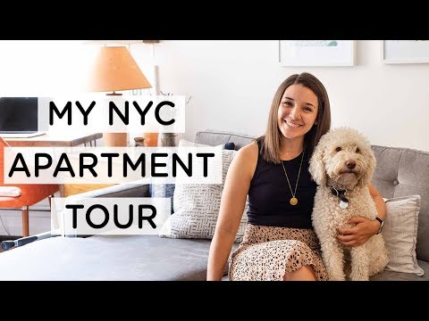 SMALL NYC APARTMENT TOUR ‣‣ Welcome to My Home