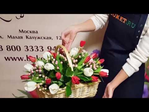 Корзина цветов «Лолита»