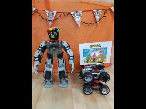 Цирковая студия роботов «Roboland». Это настоящее шоу роботов!