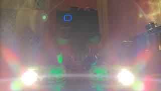 FPV 425 - GoPro vs. Akaso (NightTest with my DIY 6w Headlight)