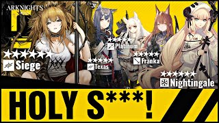 Franka  - (Arknights) - WHO TO AIM FOR ON NEW BANNER! SIEGE, NIGHTINGALE, TEXAS, PLATINUM AND FRANKA! Arknights!
