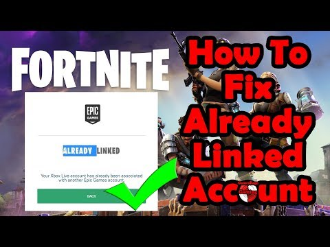 How To Fix FORTNITE Unable To Link Xbox/PS4 To Epic Games Account