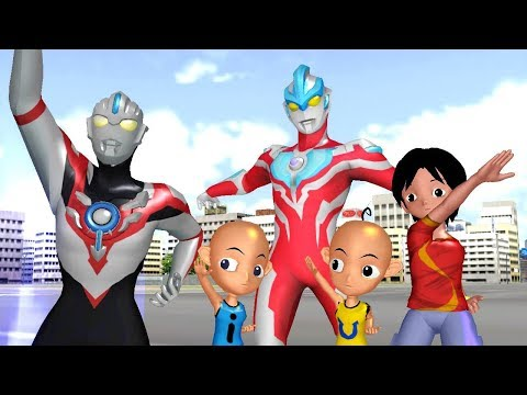 Upin Ipin Shiva ANTV ULTRAMAN ORB and Ginga Nursery Rhymes