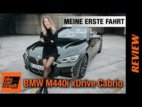 BMW 4er Cabrio (2021) 💚 Meine erste Fahrt mit dem M440i xDrive 🏁 Fahrbericht | Review | Test | G26