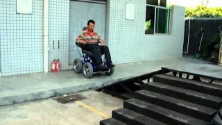 SILLA DE RUEDAS ELECTRICA SUBEESCALERAS