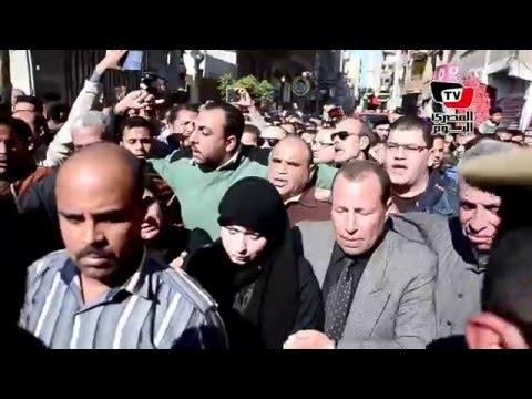 جنازة عسكرية مهيبة لشهيد العريش «محمد السولية» بالدقهلية