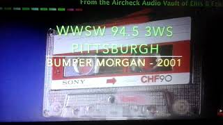 """FM 94.5 """"3WS"""" WWSW Pittsburgh, Pennsylvania 2001 Radio Station Identification Top Of The Hour"""