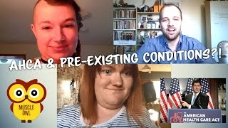 Muscle Owl Talks Ep50: The AHCA & Pre-existing Condtiions!?
