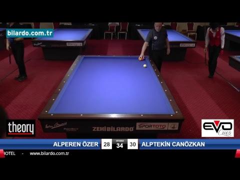 ALPEREN ÖZER & ALPTEKİN CANÖZKAN Bilardo Maçı - 2018 GENÇLER 1.ETAP-Yarı Final
