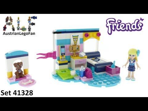Vidéo LEGO Friends 41328 : La chambre de Stéphanie