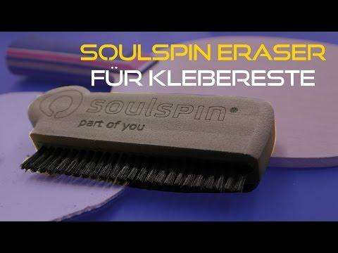 Klebereste vom Holz und Belag lösen - Test/Review Soulspin Eraser | Tischtennis Helden