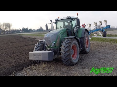 FENDT 939 Vario S4 & LEMKEN Juwel 8 -  SPEED PLOUGHING at 13 km/h