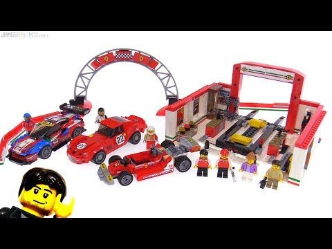LEGO Speed Champions Ferrari Ultimate Garage Review! 75889