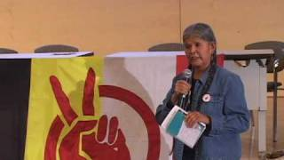 Jean White Horse speaks at the 2009 AIM Fall Conference (pt 1 of 3)