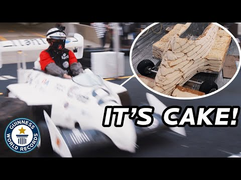 How Fast can You Drive a Cake?