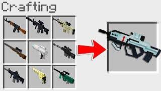 ¡NUNCA JUNTES TODAS LAS ARMAS DE MINECRAFT! (MUY PELIGROSO) | MINECRAFT TROLL