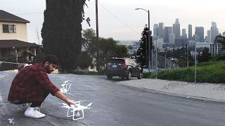Los Angeles Drone Flight
