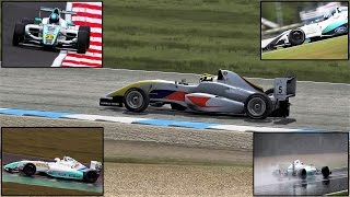 Formula Abarth - Donnington Lap - For Billy Monger