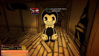 BENDY AND THE INK MACHINE CHAPTER 4 [🔴LIVE]
