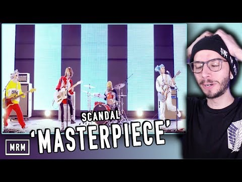 SCANDAL - Masterpiece REACTION!!