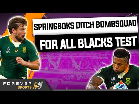 SPRINGBOKS DITCH BOMBSQUAD FOR ALL BLACKS! | Springbok Team Announcement | Forever Rugby