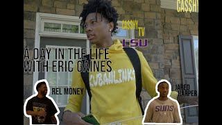 A Day In The Life With LSU Commit Eric Gaines