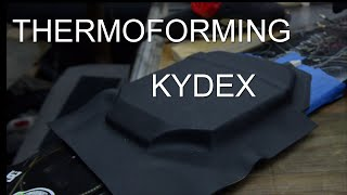 HOW TO: Thermoforming Kydex - ESKATE Battery Box Part 2