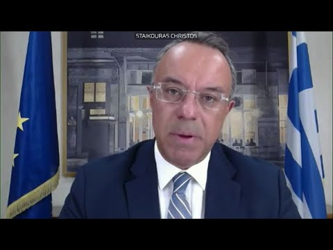 Ο Υπουργός Οικονομικών Χ. Σταϊκούρας παρουσίασε τους στόχους της οικονομικής πολιτικής της Ελλάδας