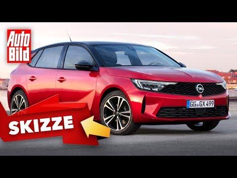 Opel Astra (2021): Skizze - Neuvorstellung - Kompakt - Infos