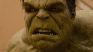Avengers 2 Age Of Ultron  Hulk Vs The Hulkbuster FIRST LOOK Clip 2015