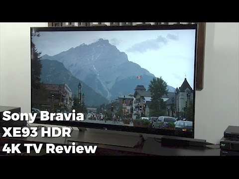 Sony BRAVIA (XE93) KD-55XE9305 HDR 4K TV Review