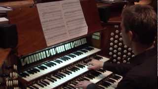 James Kennerley Plays Vierne's Carillon De Westminster At Washington National Cathedral