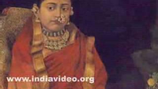 Portrait of Princess Tarabai by Raja Ravi Varma