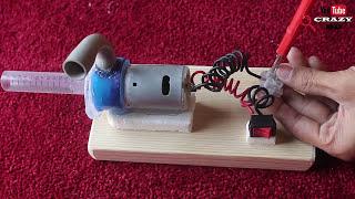 How to Make Powerful Water Pump - Wonderful  Home Made Pump