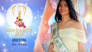 Florencia Barreto Fessler Miss Earth Argentina 2019 Eco Video