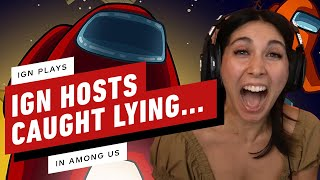 Imposter Caught Red-Handed And Still Winning - IGN Plays: Among Us by IGN