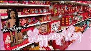 American Girl Doll Shopping Vlog ! 5below, Target, Hobby Lobby. (Did I Sell My Doll Pepper)?!!