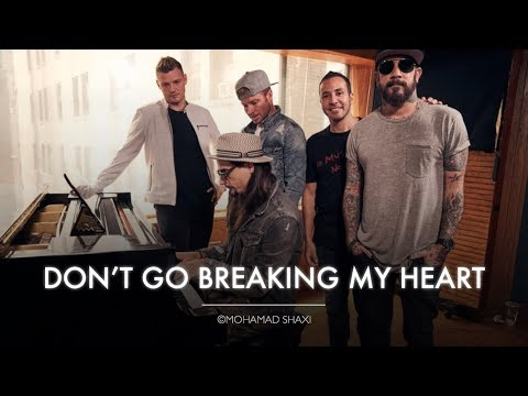 Backstreet Boys - Don't Go Breaking My Heart (Acoustic Live on BBC Radio 2)